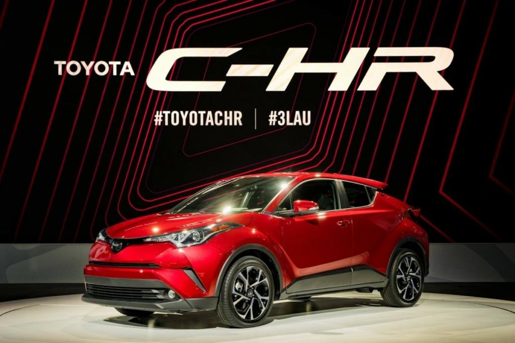 Самый мощный кроссовер Toyota C-HR дебютировал в США