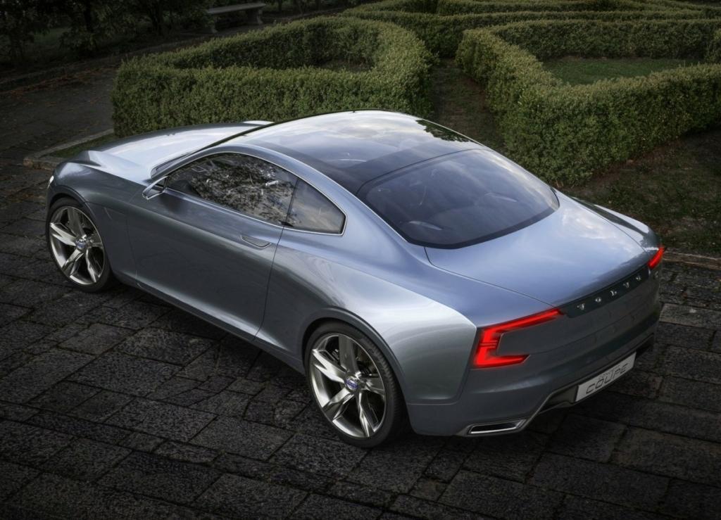 Каким будет новое купе Volvo C90