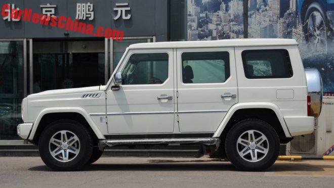 На рынок КНР вышел новый джип Beijing Auto BJ80