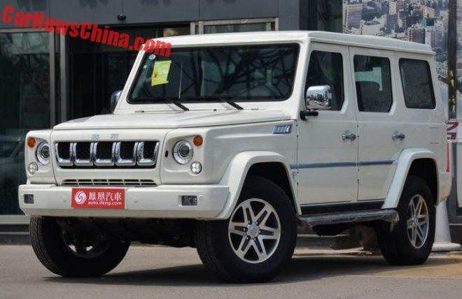 Новый полноприводный джип Beijing Auto BJ80C готов выйти на рынок КНР