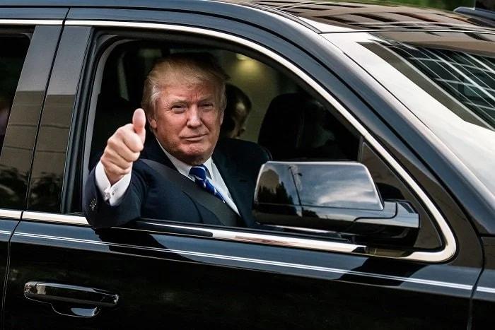 Лимузин Трампа - машина президента США за $2 миллиона