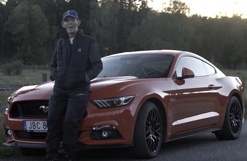Мечты сбываются - дожить до ста лет и купить Ford Mustang