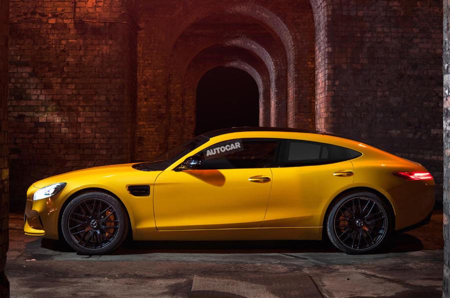 Хетчбэк Mercedes-AMG бросит вызов Porsche Panamera