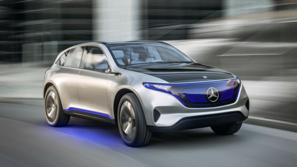Mercedes-Benz представит 10 серийных электромобилей до 2025 года