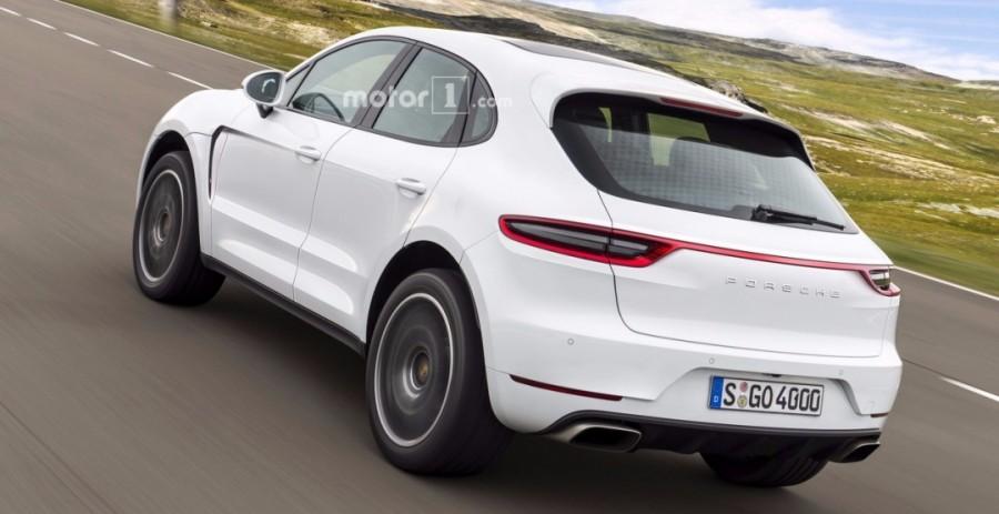 Самый доступный и маленький кроссовер Porsche назовут Majun