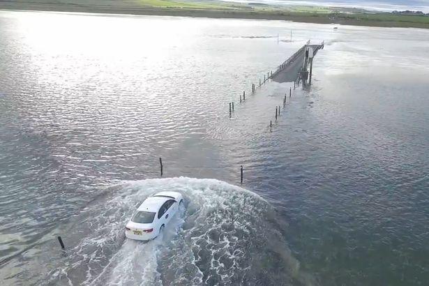 Хождение по воде. Сверхъестественные способности Volkswagen Jetta