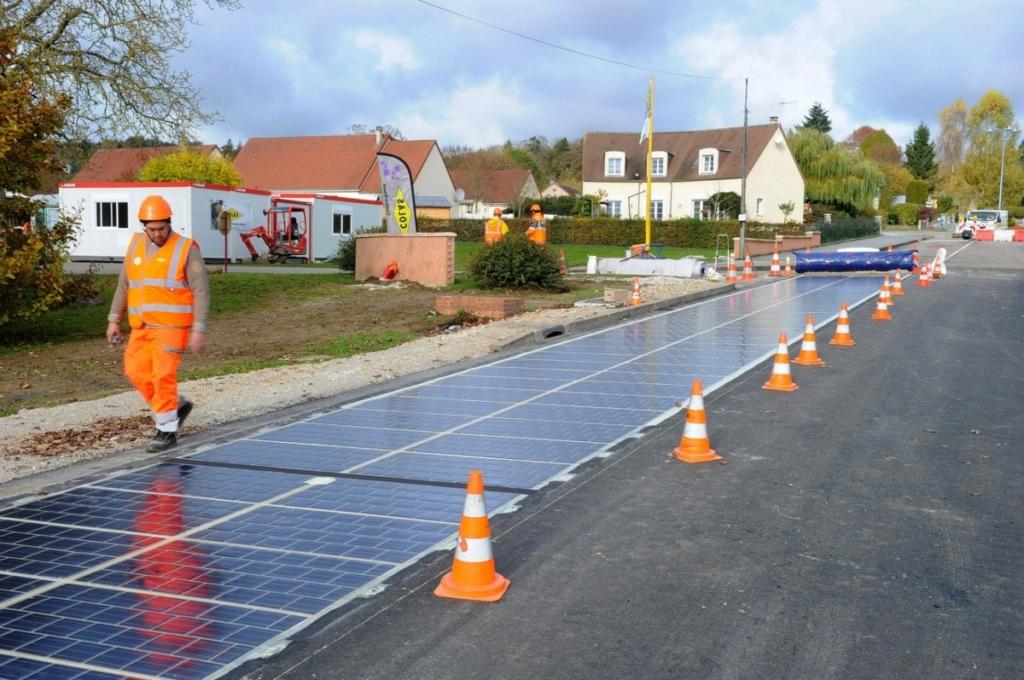 Дороги будущего – солнечные батареи заменят асфальт