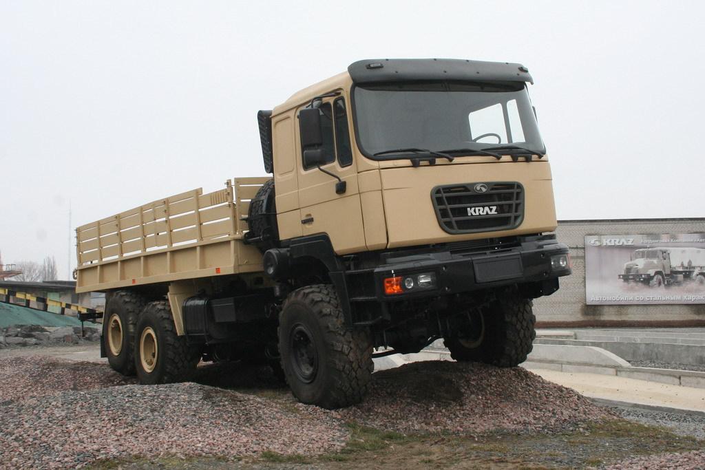 КрАЗ В12.2МЕХ «Сержант» (6х6)