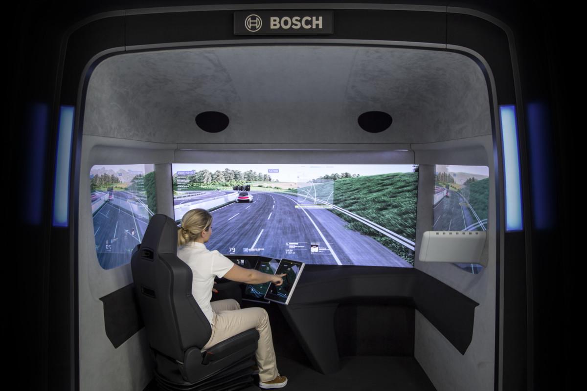 Грузовик Bosch VisionX