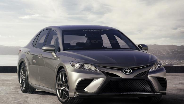Toyota Camry 2018. Каким будет новый седан Тойота