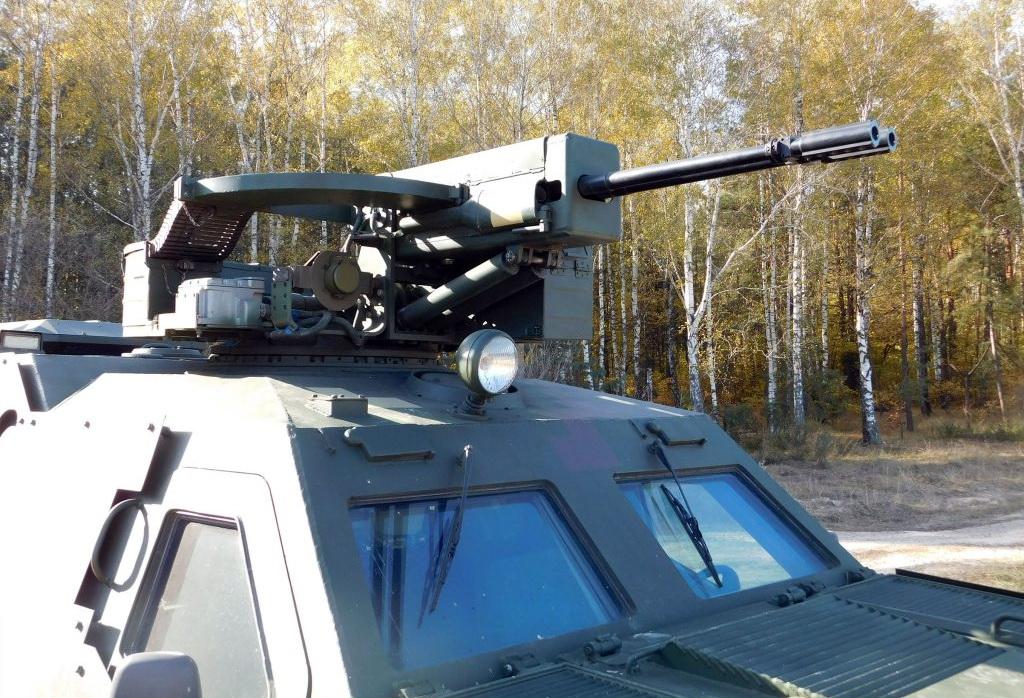 «Дозор-Б» с боевым модулем «Вий»