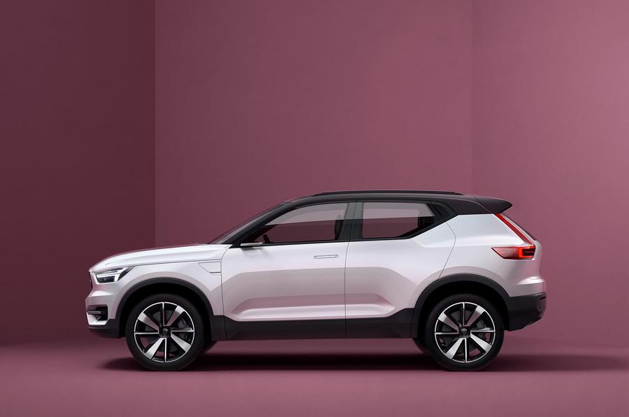 Volvo Concept 40.1 - предвестник одной из будущих моделей 40-серии