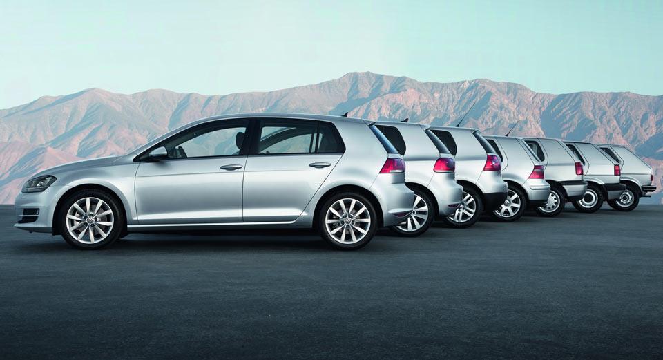 Volkswagen Golf 2017 – обновленный Гольф получит новые моторы и оптику