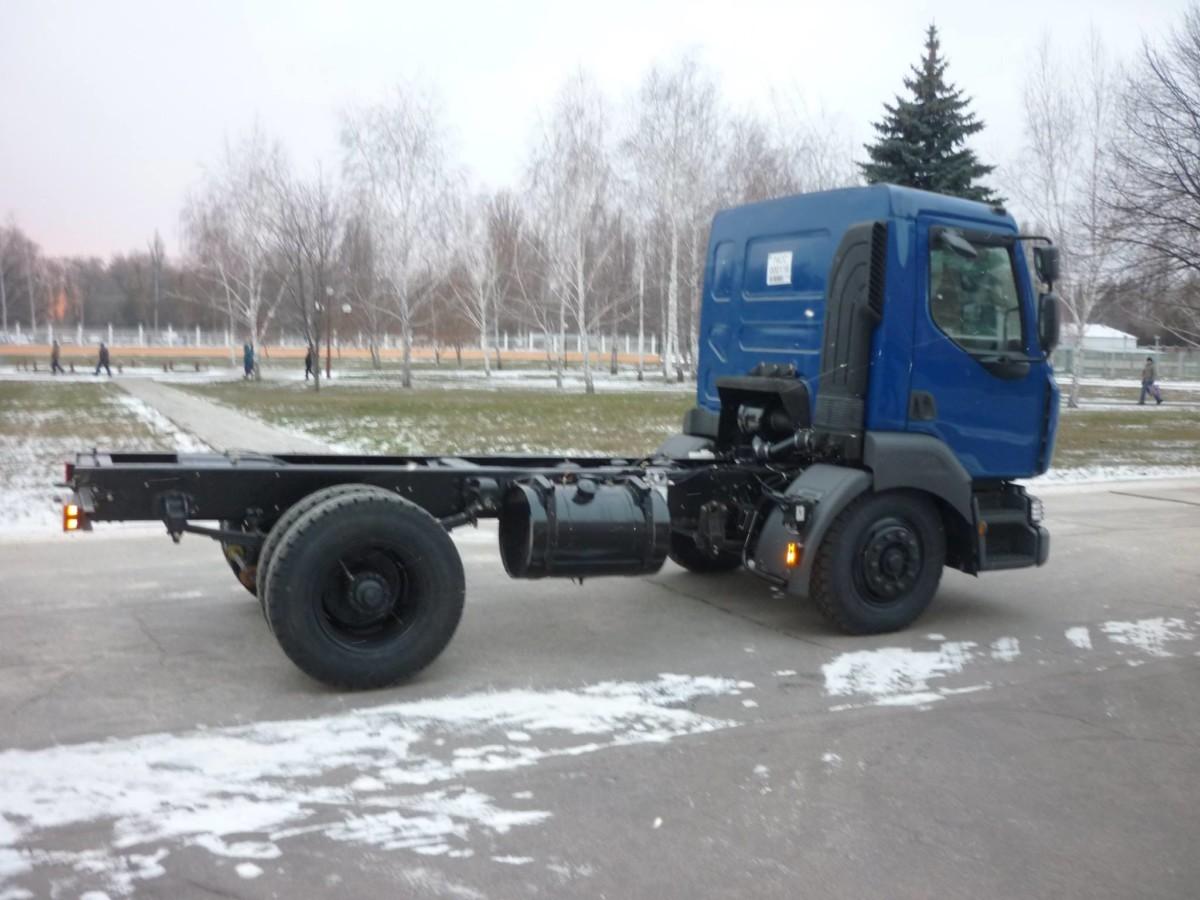 Новое шасси КрАЗ