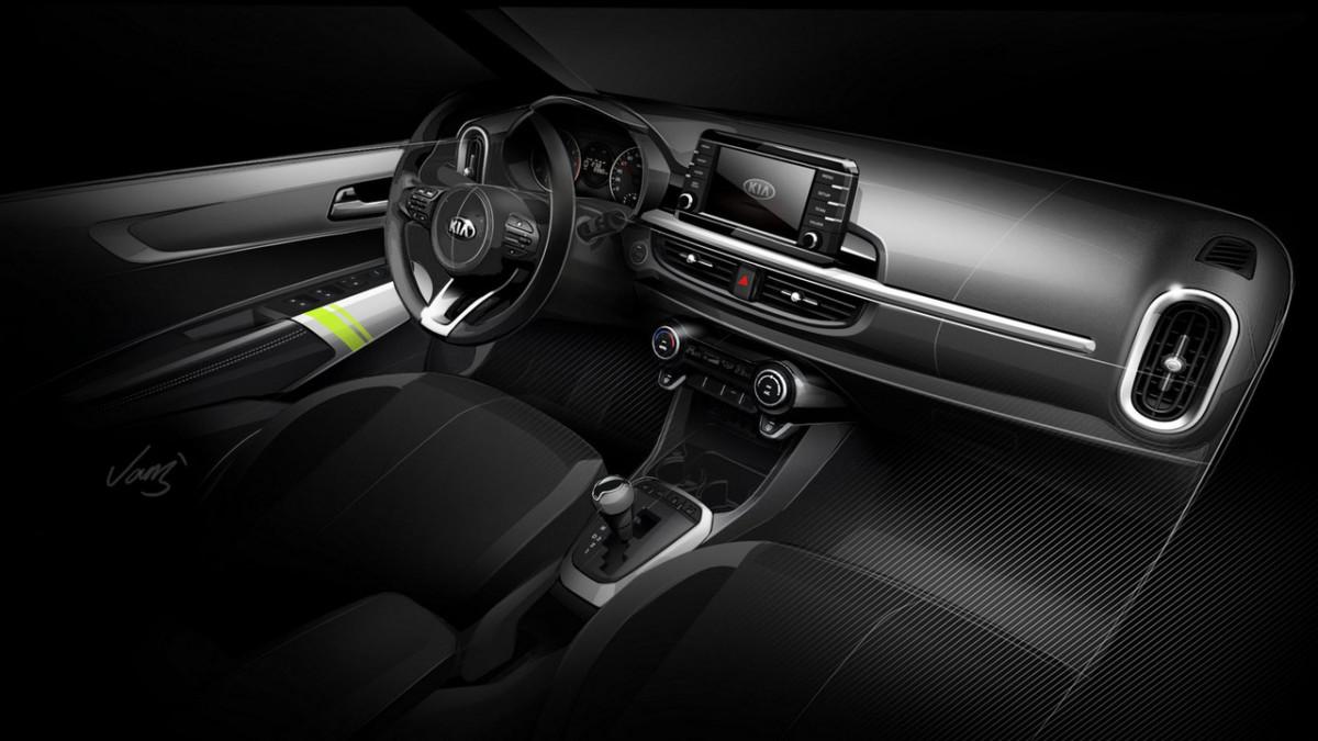 Новый Kia Picanto 2017 – первые изображения и подробности