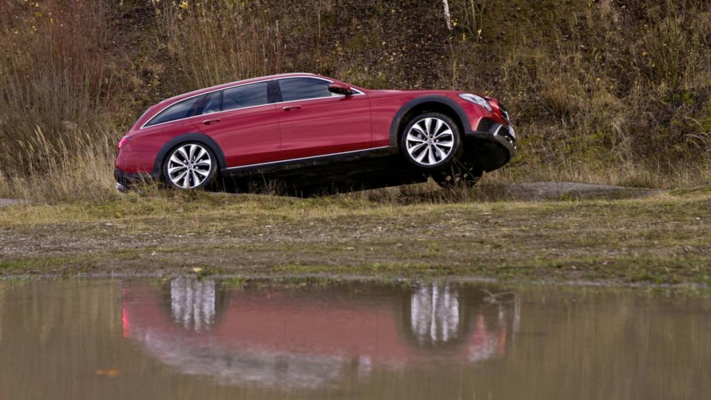 Внедорожный универсал на бездорожье. На что способен Mercedes-Benz E-Class All-Terrain