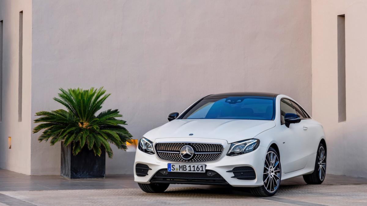 Новый Mercedes-Benz E-Class Coupe - первые официальные фото