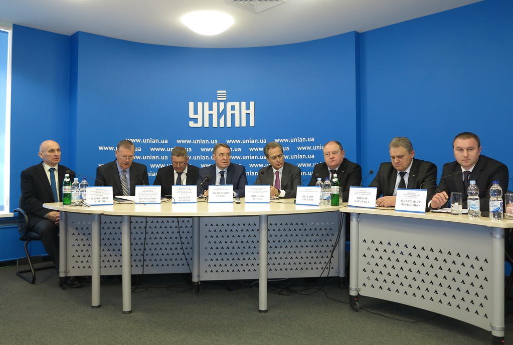 На пресс-конференции корпорации «Эталон»
