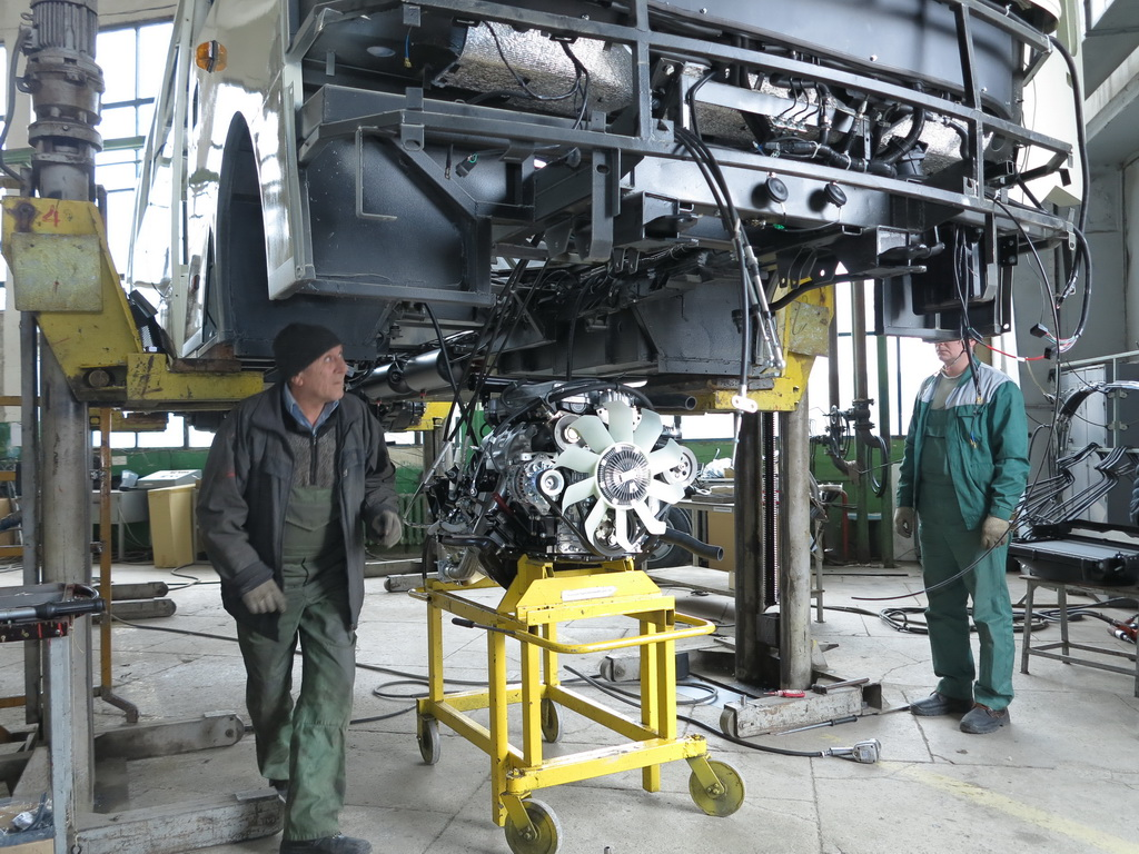 Производство коммерческих автомобилей в Украине