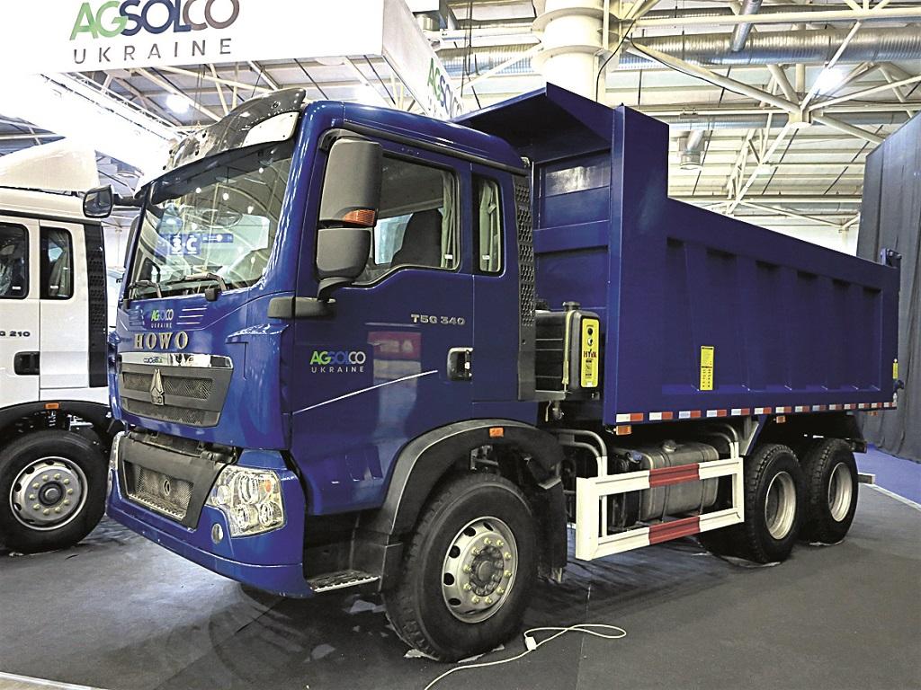 Howo T5G (6х4) имеет кузов из стали Hardox.