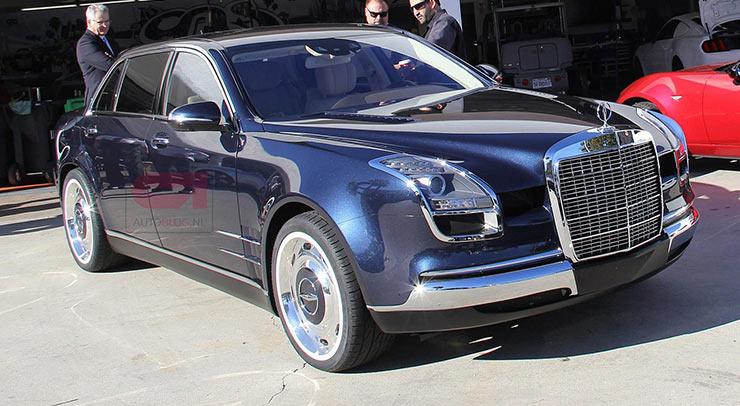 Роскошный седан Mercedes-Benz S600 Royale рассекречен на видео