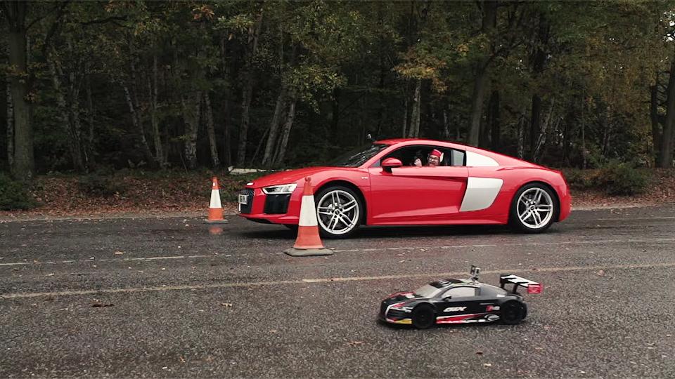 Audi R8 drag