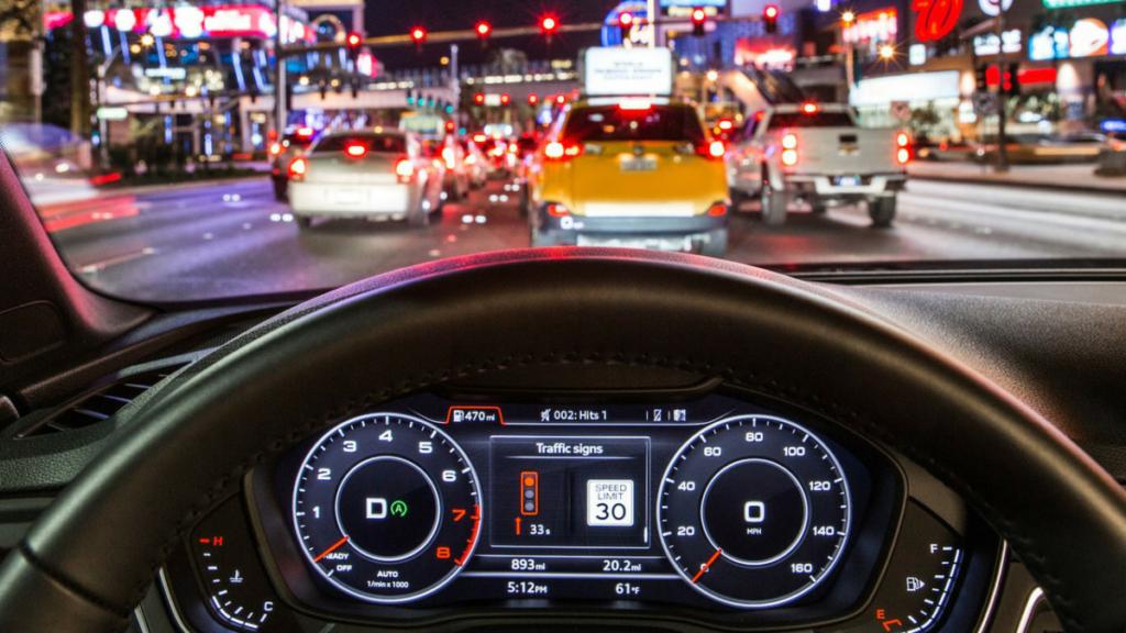 Ауди подключила свои автомобили ксети светофоров вЛас-Вегасе