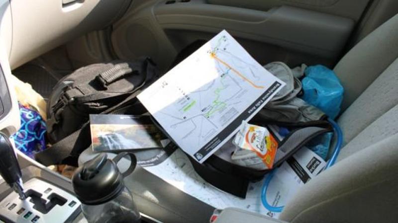 Почему надо закреплять вещи в автомобиле
