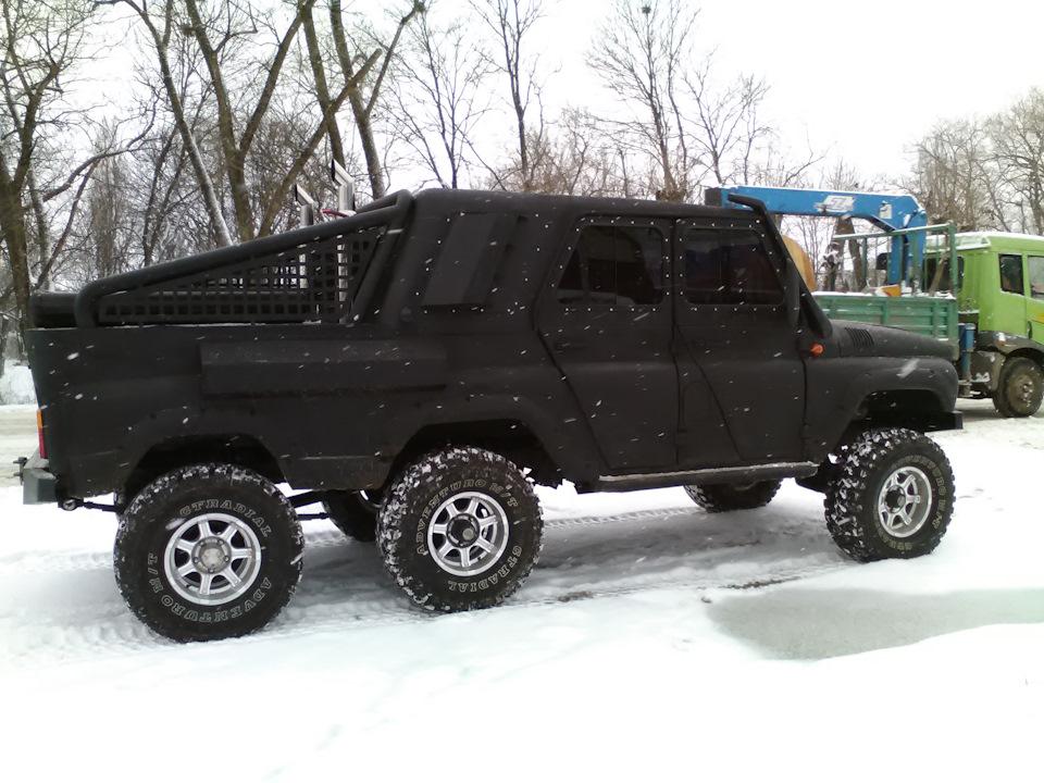 6-колесный УАЗ