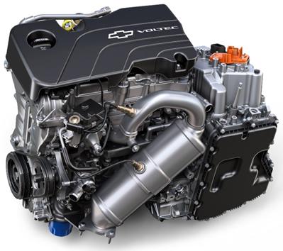 Силовая установка Chevrolet Volt 2017