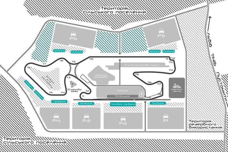 Формула 1 в Украине: проект гоночной трассы под Львовом