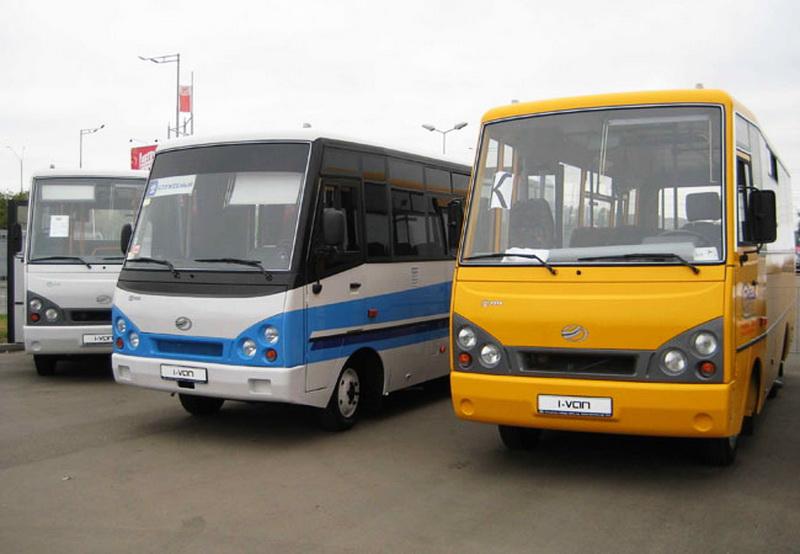Автобусы ЗАЗ модельного ряда А07