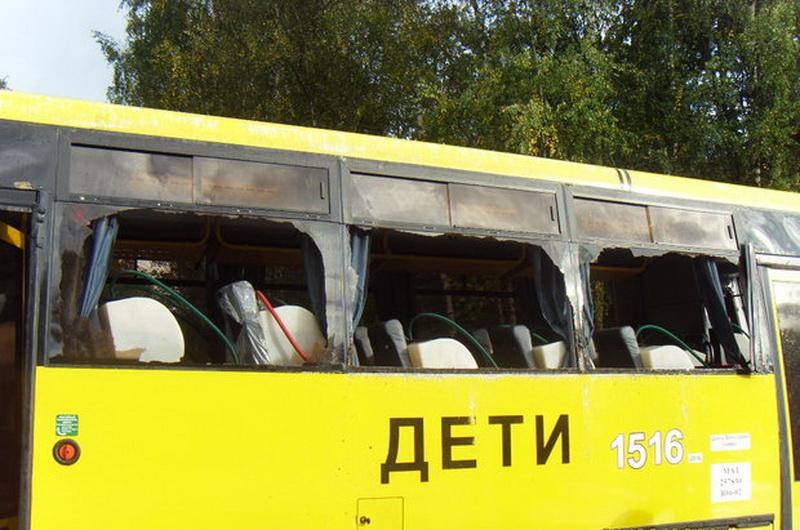 Краш-тест школьного автобуса МАЗ следующего 2017-ого года
