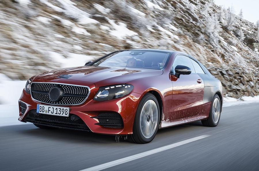 Mercedes-Benz E-Class Coupe – первые фото и подробности купе Мерседес