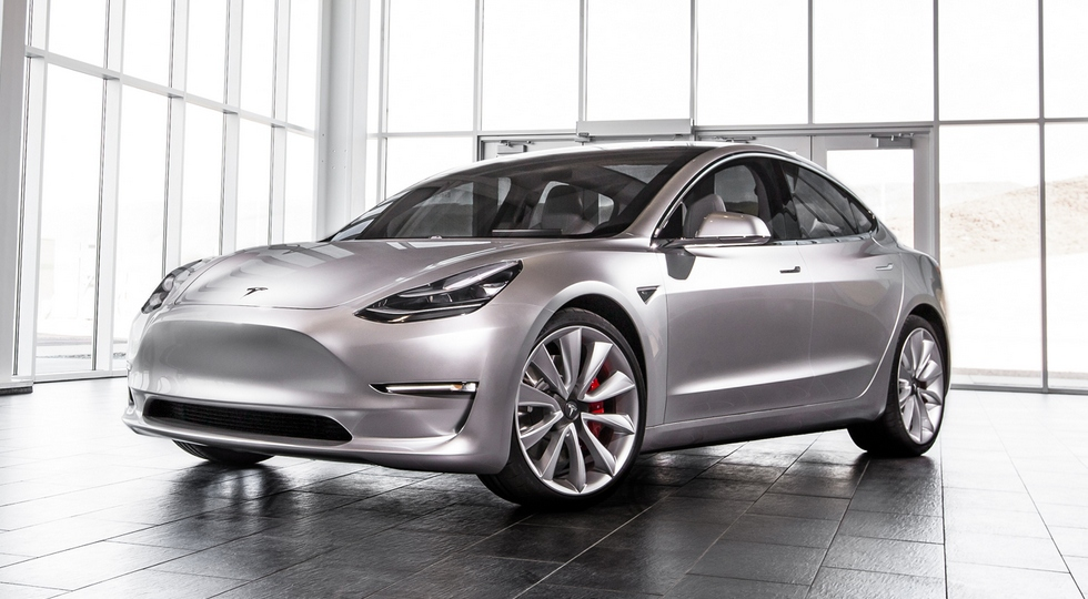 Стали известны характеристики Tesla Model 3 2018