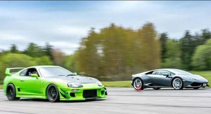 Supra vs Lamborghini Huracán
