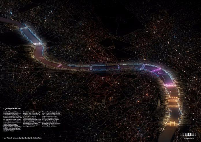 Художник разработал эффектнейшую подсветку мостов
