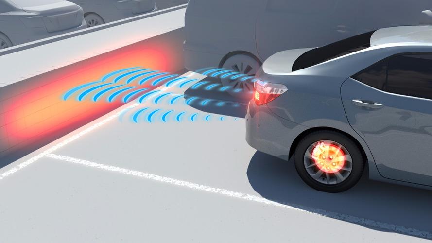 Новый парктроник Toyota снижает риск ДТП