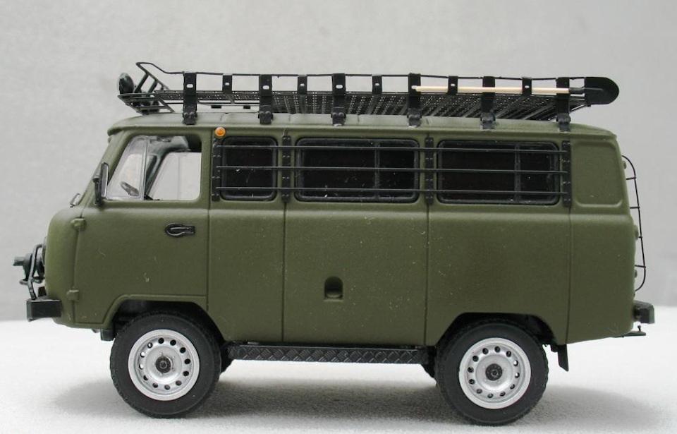 тюнинг масштабных моделей на примере УАЗ «Буханка»