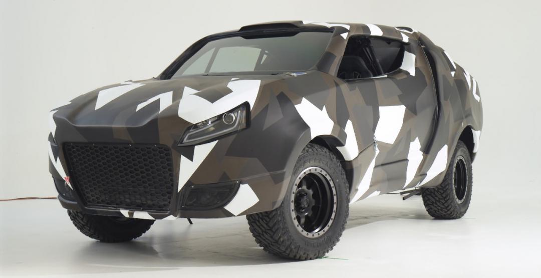 Прототип VW Korama встиле «Безумного Макса»