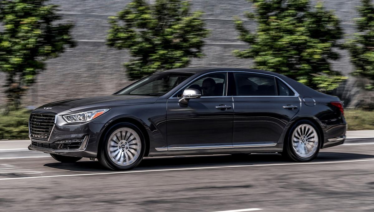 Hyundai будет выпускать люксовые Genesis в США