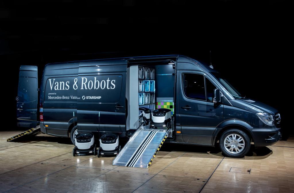 Подразделение Mercedes-Benz Vans продолжает работы над развозными фургонами