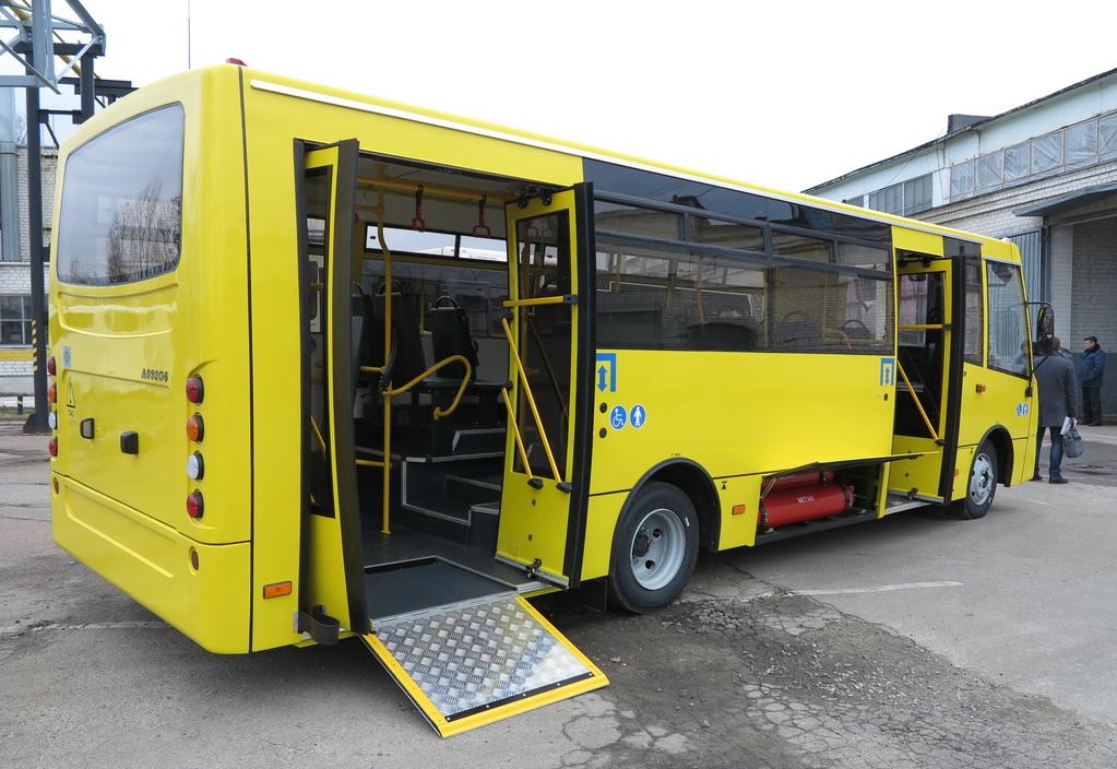Рынок автобусов в Украине