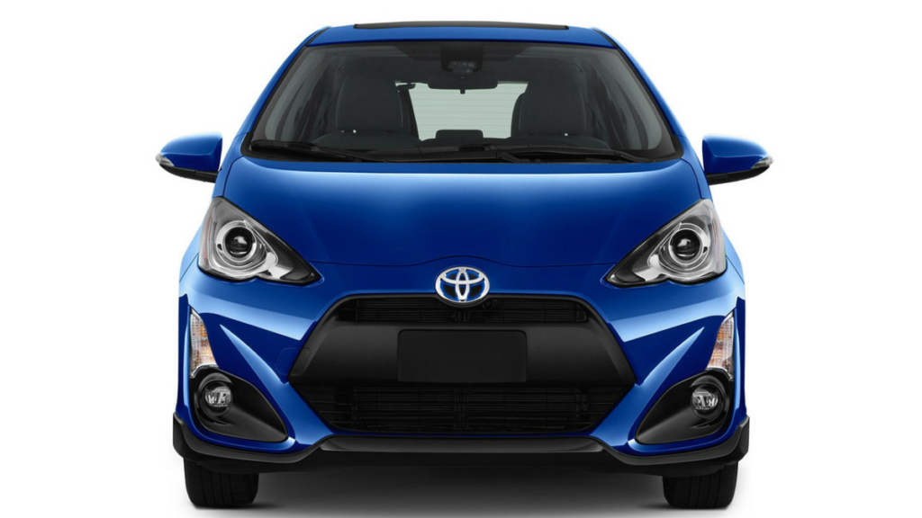 Тойота расссекретила рестайлинговый хэтчбек Prius C