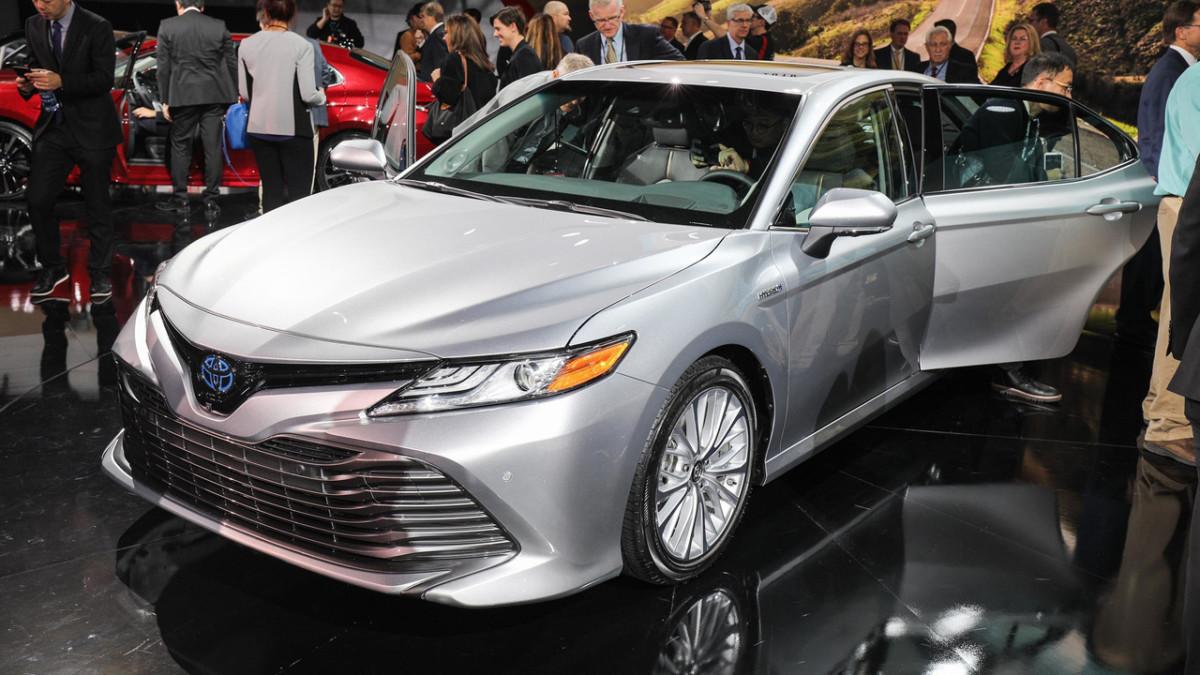Тойота представит вДетройте 45 новинок, включая новейшую Camry