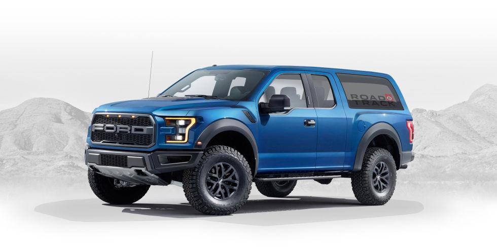 Новые детали овозрождённом внедорожнике Ford Bronco