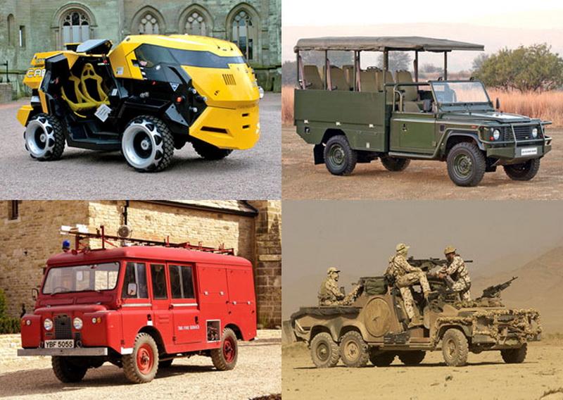 Редкие версии Land Rover Defender