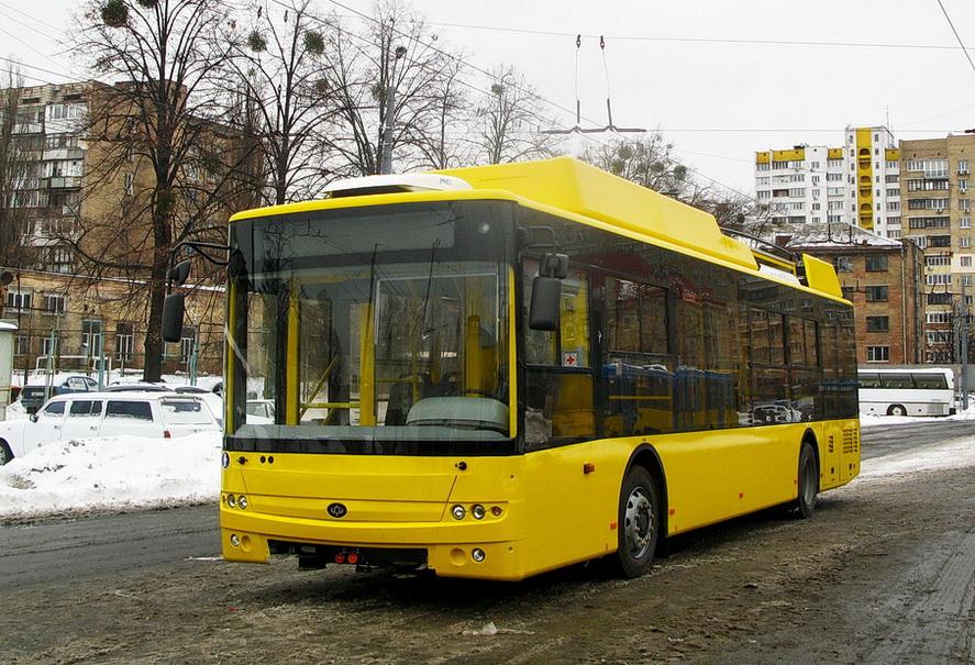 Троллейбусы с автономным ходом «Богдан-Т701.17»