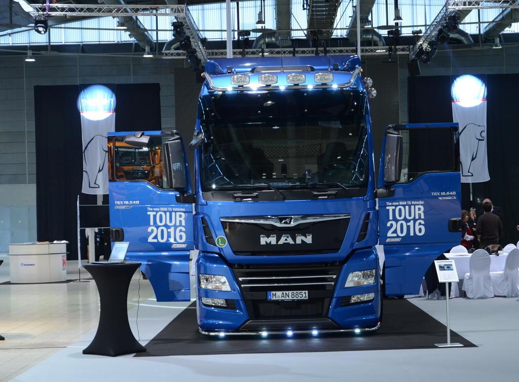 MAN TGX 18.640 в исполнении PerformanceLine и 640-сильным турбодизелем D38