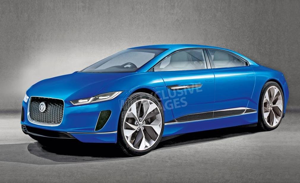 Новый электромобиль Jaguar 1+1 : метр ширины и посадка как в мотоцикле